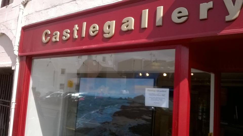 Castle gallery Inverness Exhibition May 2015.