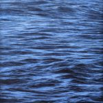 """open waters 2"" 30cm x 30cm acrylic on linen"