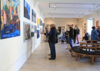 "Exhibition with the ""Coastal Artists Group"" 1st-28th June 2017"
