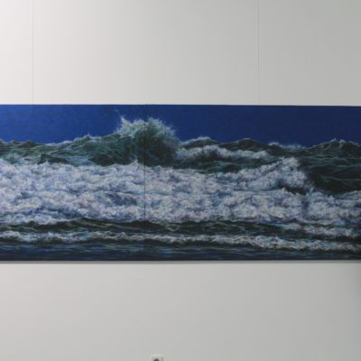 """The Crown of the Wave"" (diptych)"