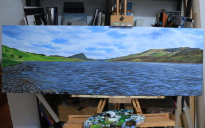 """""""View from where the River Hope enters Loch Hope"""""""