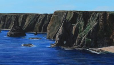 """Panorama at Duncansby Stacks"""
